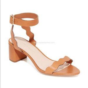 Loeffler Randall Emi City Cognac Leather Sandal